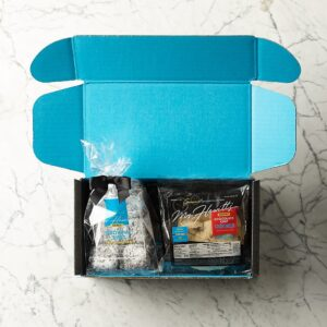 gift box of gluten free goodies